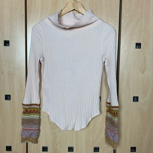 Free People Ribbed Long Sleeve Thermal